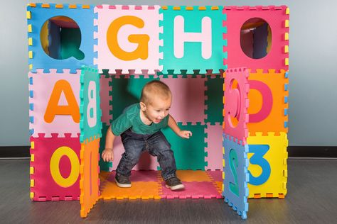 How to Build a Fort with Foam Tiles {in 6 easy steps} - Flooring Inc