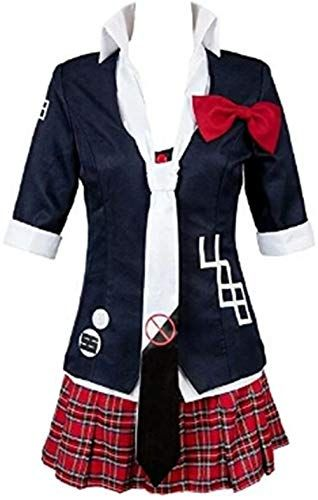 Double Villages Anime Danganronpa Junko Enoshima Cosplay Costumes Uniforme Polyester Costume
