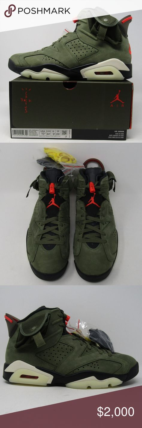 Nike Air Jordan Travis Scott Cactus Jack 6 Astro Nike Air Jordan Travis Scott Cactus Jack 6 VI Retro TS SP Astroworld 10.5  Brand New In Hand Fast Shipping Usually Same Day Shipping  Size 10.5 Nike Shoes Sneakers