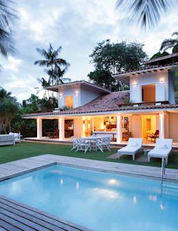 Una Casa Tropical Hermosa Como Ninguna Casas De Estilo Rural
