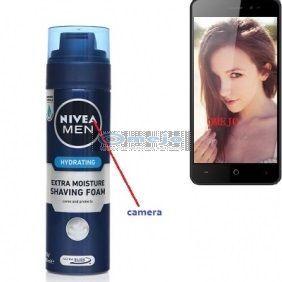 Hd Shaving Foam Container Bottle Camera Bathroom Spy Camera Wireless Spy Cell Phone Dvr Spy Camera Wireless Spy Camera Best Spy Camera