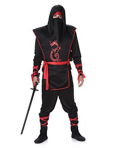 Karnival Costumes Costume de Ninja pour Homme