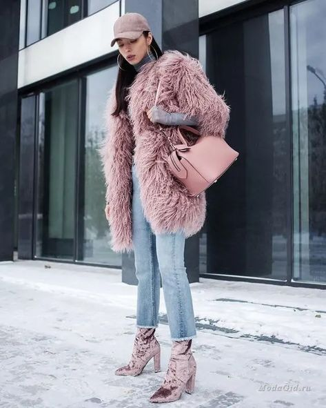 Winter Coat with Fur: Fashion Vs Function - Description: Talking about fashion sometimes won't catch any other things. But this winter coat with fur is different. It bears the name of fashion an.