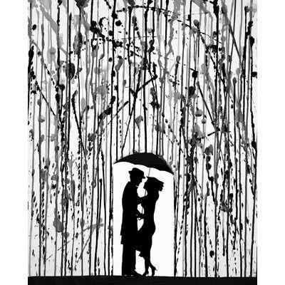 """JaxsonRea ''Film Noir'' by Marc Allante Graphic Art on Wrapped Canvas Size: 32"""" H x 24"""" W x 1.5"""" D"""