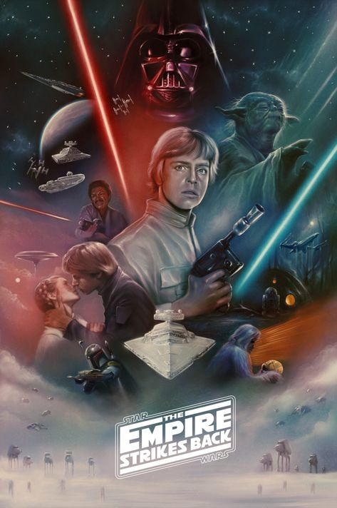 The Empire Strikes Back - PosterSpy