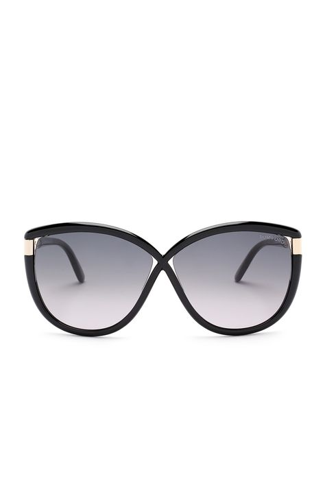 ceb4d991a7d1 Classy Tom Ford Women s Abbey Oversized Sunglasses