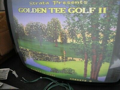 Details About 1992 Strata Golden Tee Golf Ii Arcade Pcb Jamma Tested And Working Rare In 2020 Jukeboxes Arcade