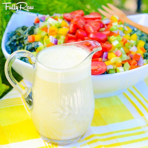 FullyRaw Orange Ginger Sesame Salad Dressing! The perfect sweet and sassy dressing for your raw food salad! http://youtu.be/tK7ZpgptLgY