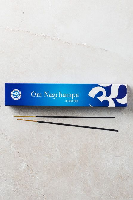 Om Nagchampa Incense Sticks 15g Earthbound Trading Co Earthbound Trading Co In 2020 Nag Champa Incense Incense Sticks Nag Champa