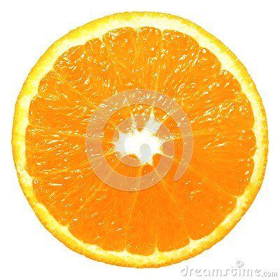 Orange Slice Isolated On White And Png File With Transparent Background Orange Orange Slices Transparent Background