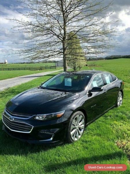 Car For Sale 2017 Chevrolet Malibu Premier