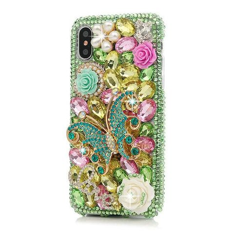 iPhone Bejeweled Rhinestone Case - Enchanted Garden | crafts