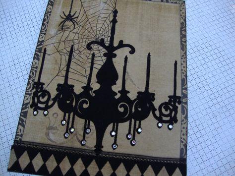 Fabulous Handmade Card, love the bling on chandelier.