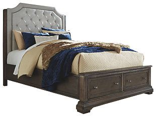 ea0bb6a6f55a1b Wildfire Queen Tweed Bed with Upholstered Headboard and Nilhead Trim by Kincaid  Furniture in 2019 | Home | Kincaid furniture, Furniture, Furniture dolly