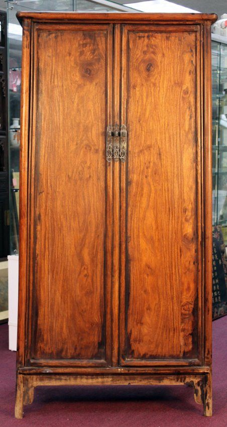 Chinese Antique Huanghuali Cabinet : Lot 36 Houston Antique Auction - 112 Best Rising Gallery Auction / Houston Antique Auction Images