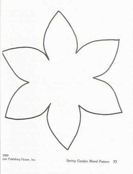 27 Trendy Craft Preschool Flower Flower Crafts Preschool Flower Template Flower Crafts