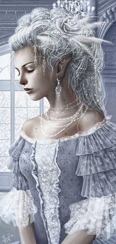 Celestys, Albinos, Démons & Vampires 11876844a0a3bcfa904dd5f35dfee8f3--creative-art-fantasy-art
