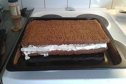 Milchschnitte Selbst Gemacht Rezept Milchschnitte Milchschnitte Rezept Kuchen Und Torten