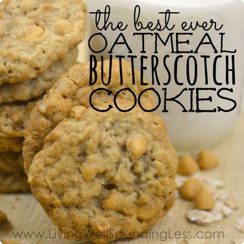 Best-Ever Oatmeal Butterscotch Cookies