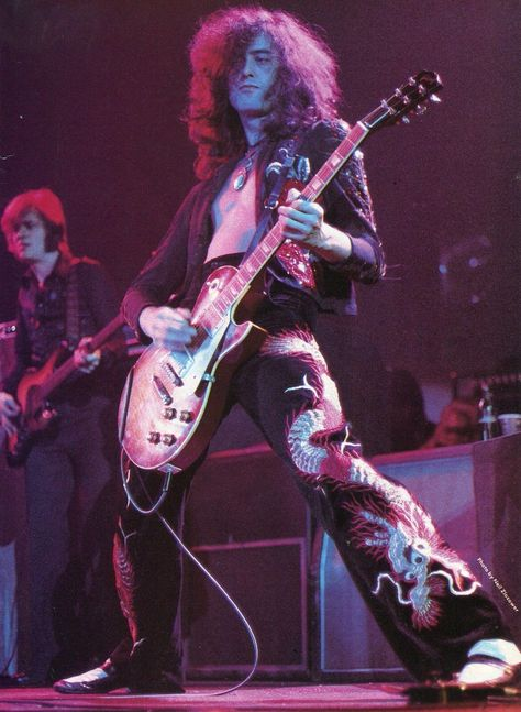 Jimmy Page and John Paul Jones, Led Zeppelin Jimmy Page, Robert Plant, Hard Rock, I Love Music, El Rock And Roll, Rock And Roll Bands, Rock Y Metal, John Paul Jones, John Bonham