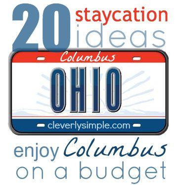 Columbus Staycation Ideas Budget