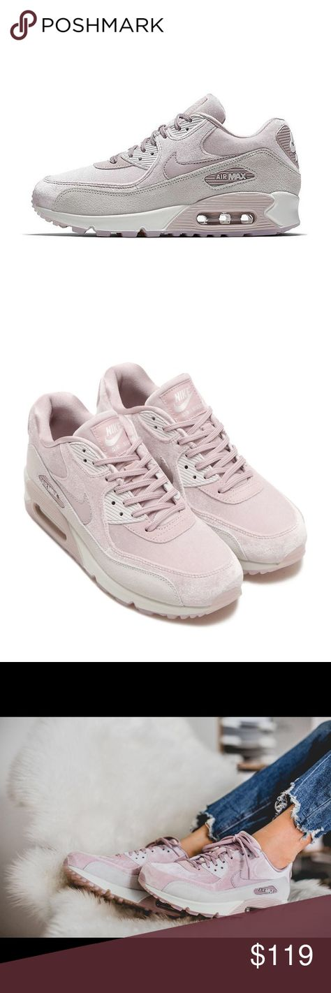 huge discount b3a6f ee697 New In Box Nike Air max 898512-600 particle rose 100% Authentic Nike Air  Max 90 LX Women s Shoes Color   Particle Rose Vast Grey-Summit  White-Particle Rose ...