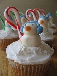 @Kathleen S S DeCosmo ?? #CupCakes ?? ? ? #Christmas Sweet Snowman