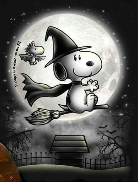 Witch Snoopy