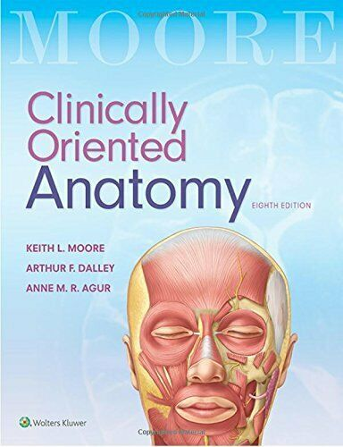 Pdf Clinically Oriented Anatomy 8th Edition By Moore