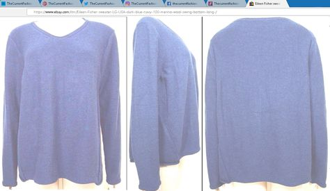 shopping Eileen Fisher sweater ~ Size...