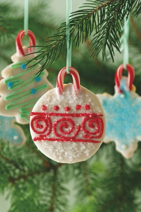 Holiday Cookie Ornaments Recipe from our friends at Betty Crocker