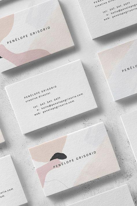 Penélope: A Modern and Minimal Business Card Design for Creatives — The Denizen Co.
