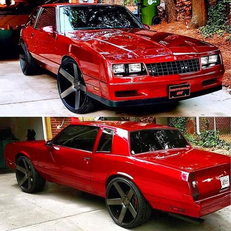 Donk Cars, Chevrolet Monte Carlo, Chevy Chevrolet, Chevy Muscle Cars, Old School Cars, Fancy Cars, Sweet Cars, Car Painting, Chevy Trucks