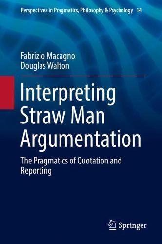 Interpreting Straw Man Argumentation PDF | Languages