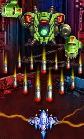 Space X: Sky Wars of Air Force 4 7 Apk Mod (Unlimited Money) for