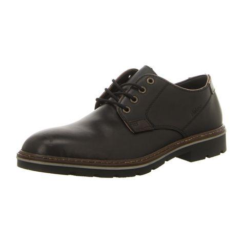 NEU: Rieker Schnürer B3501 01 schwarz   Schuhe