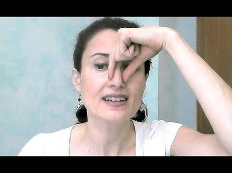 Gimnasia facial adelgazar nariz