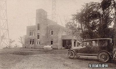 1925年(大正14年)日本で初めてのラジオ本放送が東京芝の愛宕山「東京 ...