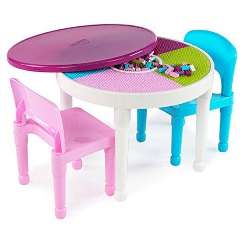Terrific Nice Tot Tutors Ct642 Kids 2 In 1 Plastic Lego Compatible Camellatalisay Diy Chair Ideas Camellatalisaycom