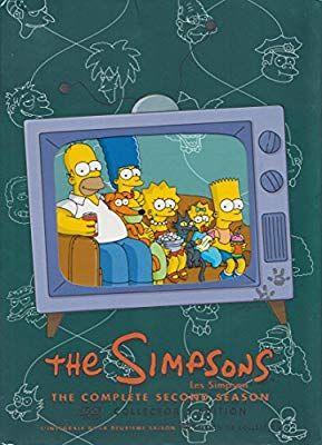 Simpsons Season 2 Amazon Ca Tbd Dvd The Simpsons The Simpsons Season 2 Simpsons Halloween