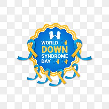 World Down Syndrome Day Design World Ribbon Png And Vector With Transparent Background For Free Download In 2021 Freelance Graphic Design Down Syndrome Day Ribbon Png