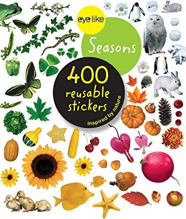 Amazon Com Au Workman Publishing Sticker Books Seasons