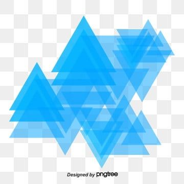Science And Technology Blue Purple Triangle Element Png And Vector Album Cover Design Blue And Purple Geometric Background