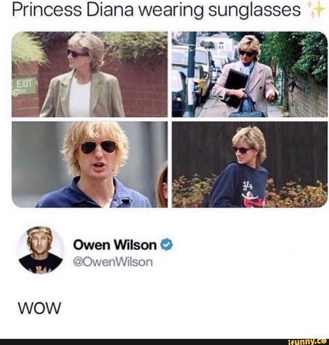 Picture memes 1 comment — iFunny Princess Diana wearing sunglasses Owen Wilson O ©OwenWilson WOW – popular memes on the site Funny Memes About Girls, Stupid Funny Memes, Funny Stuff, Funny Troll, Funny Gags, Funny Things, Random Things, Funny Picture Gallery, Funny Cute