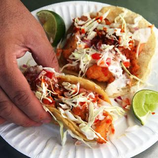 Beer Battered Fish Tacos Recipe In 2019 Grilled Fish Tacos Beer Battered Fish Tacos Battered Fish Tacos