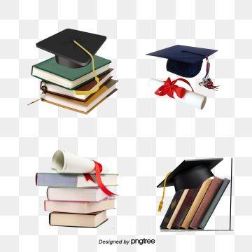 Graduation Season Material Graduation Hat Bachelor Of Science Books Png Transparent Clipart Image And Psd File For Free Download Graduation Graduation Hat Clip Art