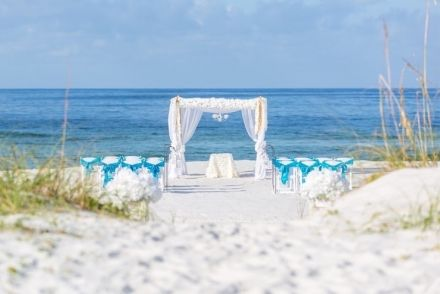 Panama City Beach Wedding Florida Panama City Beach Wedding Beach Destination Wedding Wedding Beach Ceremony