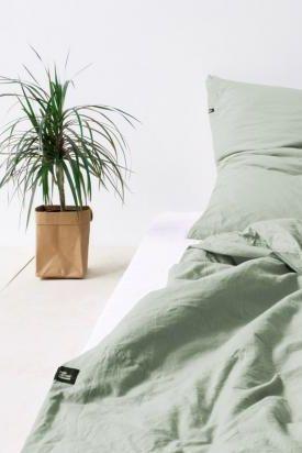 Bettwasche Pure Von Hop Design Bild 3 Mit Bildern Bettwasche Grune Bettwasche Bett