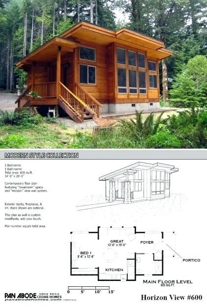 Contemporary Cabin Plans Incredible Best Small Modern House Plans