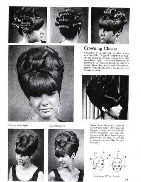 vintage pictures of big hair 1960's   On Wiglets and Hair Pieces, Part 1